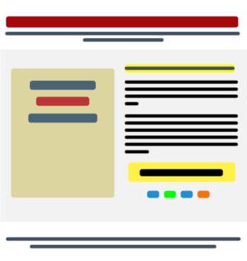 Estructura de una landing page